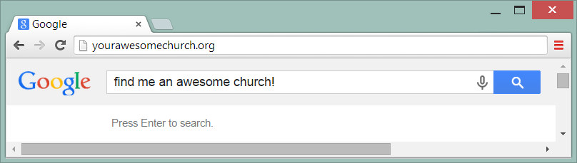 Great church websites start with a great domain name