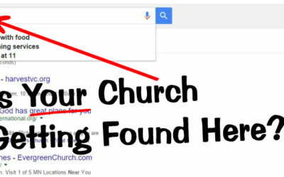 How to Make Sure Your Church is Found on Google and Bing